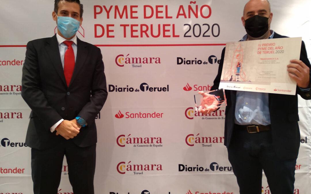 IV Premio Pyme del año de Teruel 2020 Transverich