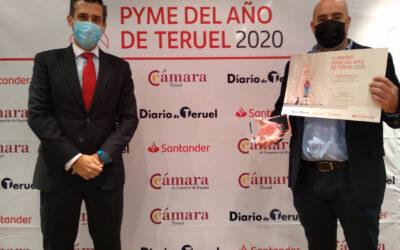 Reconocimiento a Transverich con el Premio Pyme Teruel 2020